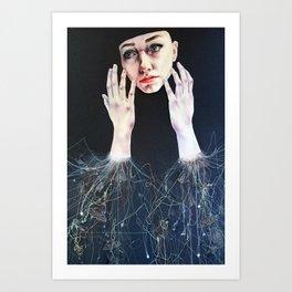 I will make magic Art Print