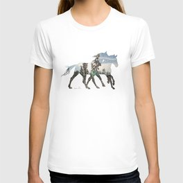 Autumn Horses T-shirt
