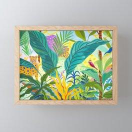 Paradise Jungle Framed Mini Art Print