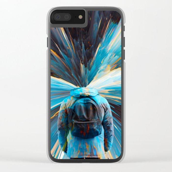 Imagination II Clear iPhone Case
