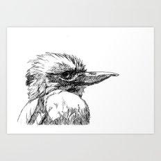 Kookaburra G2012-061 Art Print