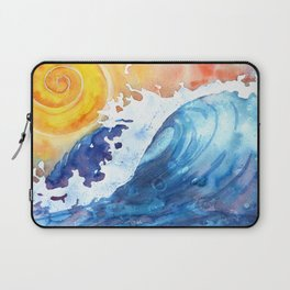 Ocean Wave Laptop Sleeve