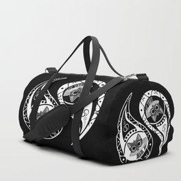 Ying Yang - Fox Nerd Duffle Bag