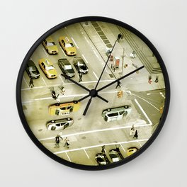 Escher Intersection Wall Clock