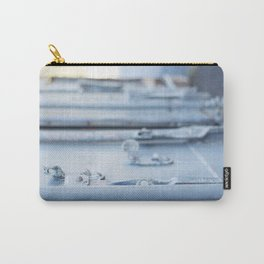 Industrial Blue Door Carry-All Pouch
