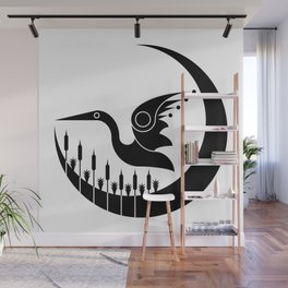 Soaring over the Wetlands Wall Mural