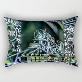 Runaway Train - Graphic 4 Rectangular Pillow