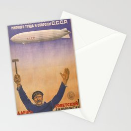 Vintage poster - CCCP Stationery Cards