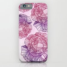 Purple rose iPhone 6s Slim Case