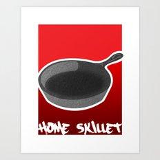The Home Skillet Art Print
