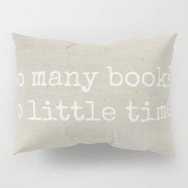 So Many Books Pillow Sham