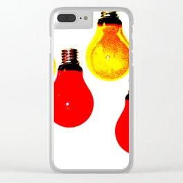 LIGHTBULBS Clear iPhone Case