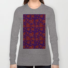 Hearts-001 Long Sleeve T-shirt