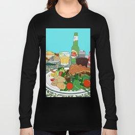 Scottish Beef Steak & Guinness Pie Long Sleeve T-shirt