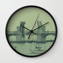 Drawbridge  Wall Clock