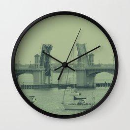 Drawbridge  Wall Clock
