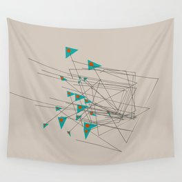 squiggles 1 Wall Tapestry
