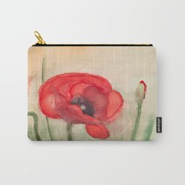 Mohnblume - Grand Red Poppy Carry-All Pouch