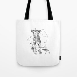 Geometric Season1:2 Fox Tote Bag