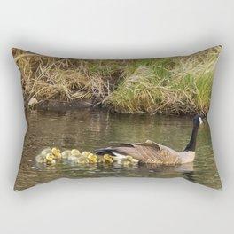 Moving the Brood Rectangular Pillow