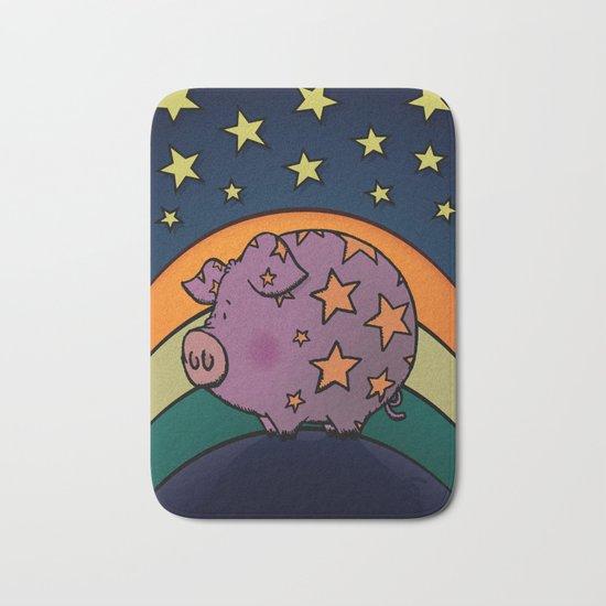 Peter The Magic Pig Bath Mat