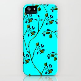 Blackberries and a Robin iPhone Case