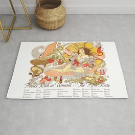 The Fifth Taste: Umami Rug