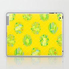 Picnic Pals animals in citrus Laptop & iPad Skin