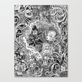 Redecorating Canvas Print