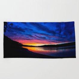 Georgia On My Mind Beach Towel