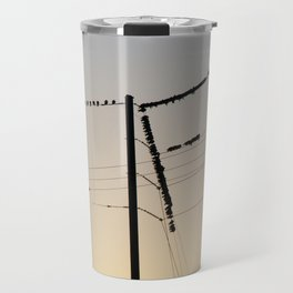 F Is for Feathers Travel Mug