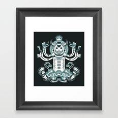 Manitou tatoo Framed Art Print