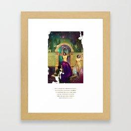 Tannhäuser en el Venusberg Framed Art Print