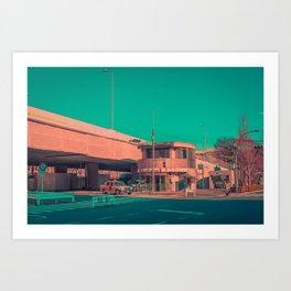 TAXI 05 Art Print