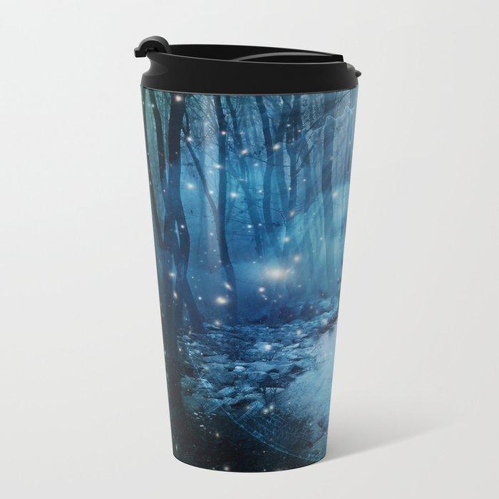 magical wood Metal Travel Mug