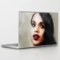 scandal Laptop & iPad Skins featuring Kerry by André Joseph Martin