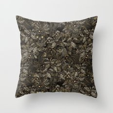 Fit In (autumn night colors) Throw Pillow