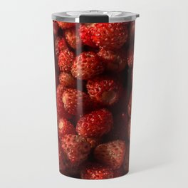 Wild Strawberries Travel Mug