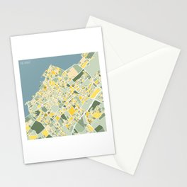 The Hague, The Netherlands, Map Art Stationery Cards