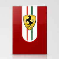 ferrari Stationery Cards featuring FERRARI by Smart Friend