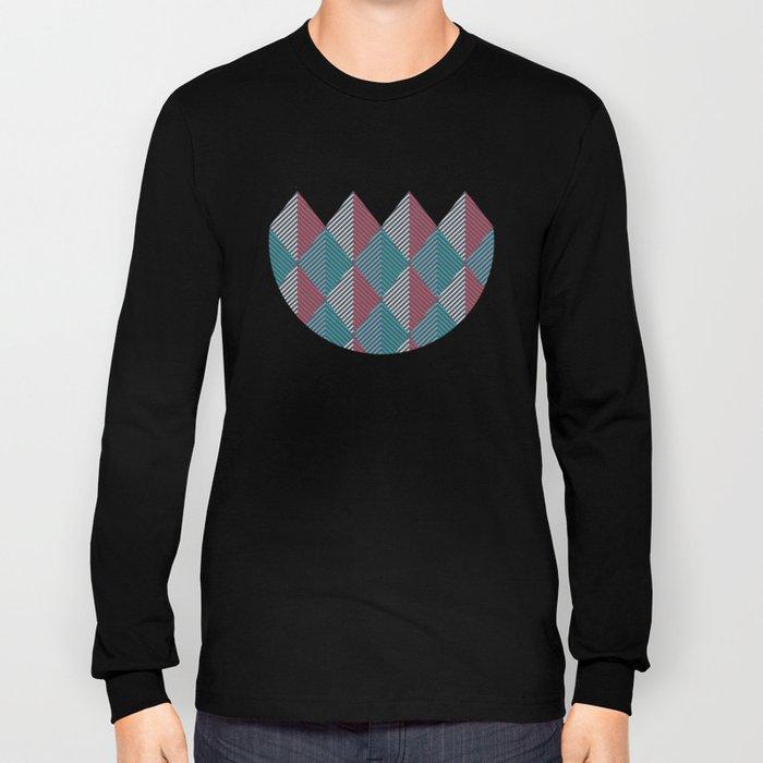 Minimal Diamonds Long Sleeve T-shirt