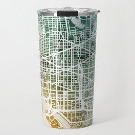 Washington DC Street Map Travel Mug