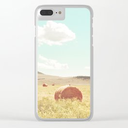 A Day in the Fields Clear iPhone Case