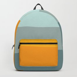 Zen Ocean Stripes Backpack