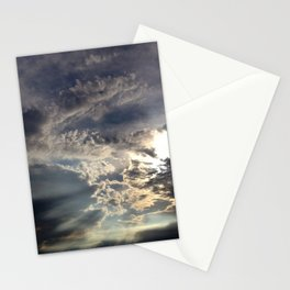 Temperamental Sky Stationery Cards