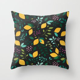 Lemon Grove Throw Pillow