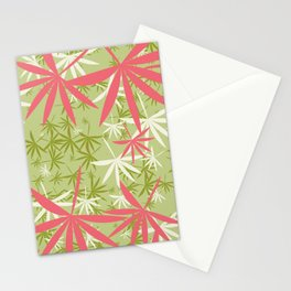 Leaves 3c Stationery Cards