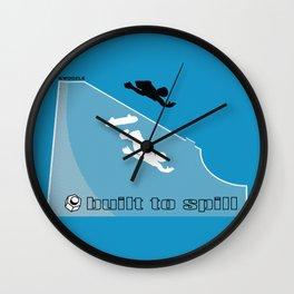 Swoozle Rampant Wall Clock