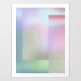 Dimension I - Gradient Art Print