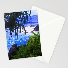 Secret Surf Location in Maui, Hawaii Stationery Cards